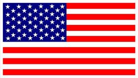 American Flag Decal / Sticker 24