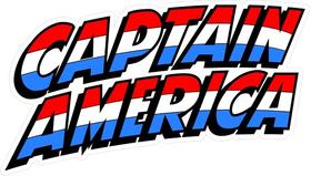 Captain America Decal / Sticker 01