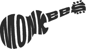 Monkees Decal / Sticker