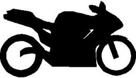 Sportbike 03 decal / sticker