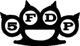 Five Finger Death Puch Decal / Sticker