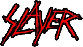 Slayer Decal / Sticker 10