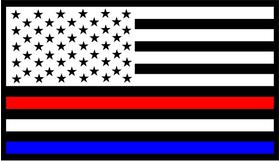 American Holland / Dutch / The Netherlands Flag Decal / Sticker 01