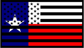 American Texas Flag Decal / Sticker 01