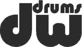 DW Drums Decal / Sticker 02