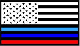 BMW M American Flag Decal / Sticker 46