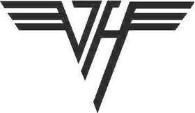 Van Halen Decal / Sticker 01