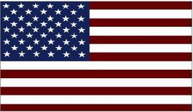 American Flag 05 Decal / Sticker