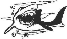 Shark Decal / Sticker 05