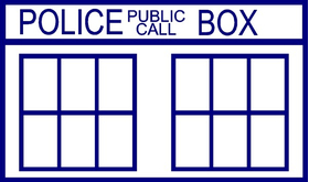 Doctor Who Tardis Decal / Sticker 04