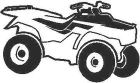 ATV 2 Outline decal / sticker