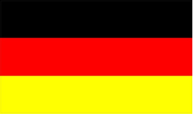 German Flag Decal / Sticker 03