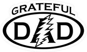 Grateful Dad Decal / Sticker 05