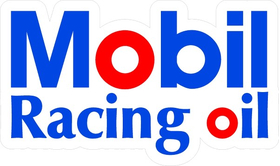 Mobil Racing Oil Decal / Sticker 10