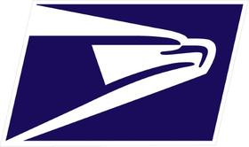 USPS Decal / Sticker 06