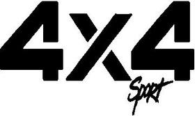 Z 4x4 Sport Decal / Sticker
