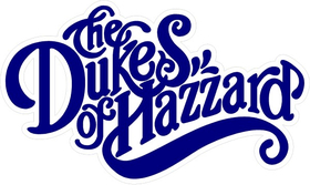 Dukes of Hazzard Decal / Sticker 04