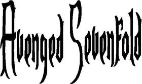 Avenged Sevenfold Decal / Sticker
