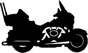 Motorcycle Decal / Sticker 01