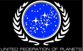 Star Trek United Federation of Planets Decal / Sticker 02