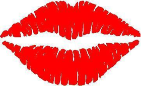 Lips Decal / Sticker 01