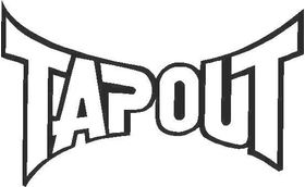 TapOut Decal / Sticker 03