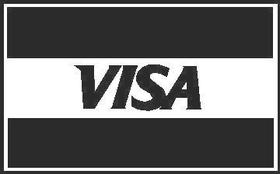 Visa Decal / Sticker