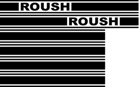 Roush Racing Truck Stripe Decal / Sticker 06