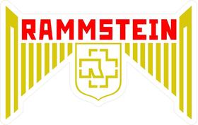 Rammstein Decal / Sticker 10
