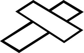 Christian Cross Decal / Sticker 46