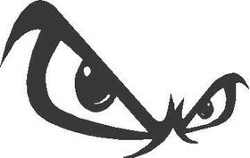 Fear Eyes Decal / Sticker