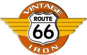 Route 66 Vintage Iron Decal / Sticker