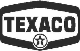 Texaco Decal / Sticker 02