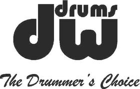 DW Drums Decal / Sticker 01