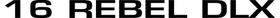 Lund 16 Rebel DLX Decal / Sticker 09