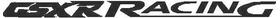 Suzuki GSXR Racing Decal / Sticker 04