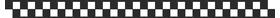 Checkered Flag Decal / Sticker 84