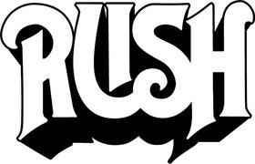 Rush Decal / Sticker 02
