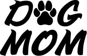 Dog Mom Decal / Sticker 02