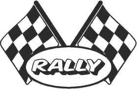 Checkered Flag Decal / Sticker 68