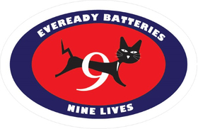 Eveready Decal / Sticker 02