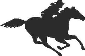 Cowboy Decal / Sticker 02