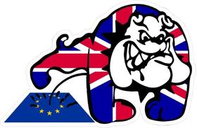 Piss On EU Decal / Sticker 02