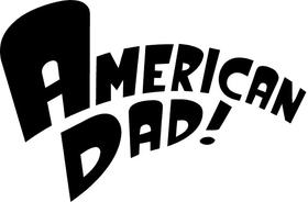 American Dad Decal / Sticker 02
