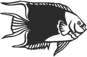 Fish Decal / Sticker 03