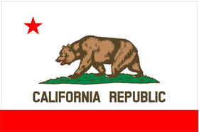 California State Flag Decal / Sticker