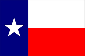 Texas Flag Decal / Sticker 05