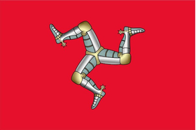 Isle of Man Flag Decal / Sticker 13