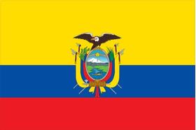 Ecuador Flag Decal / Sticker 01