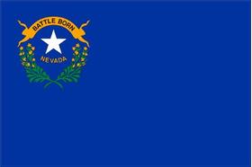 Nevada State Flag Decal / Sticker 01